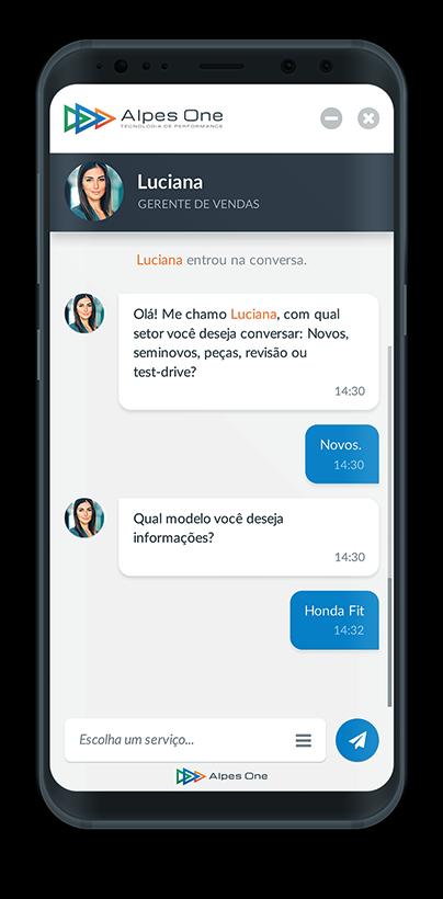 image phone chatbot